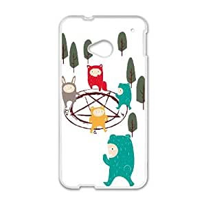 HTC One M7 Cell Phone Case White THE STRANGERS D4C3HU