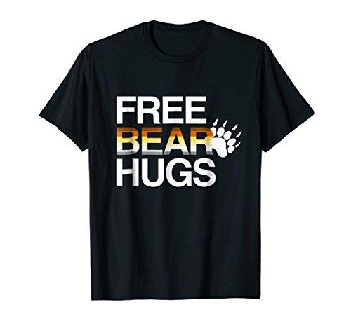 - LGBT Free Bear Hugs Gay Bear Pride T-shirt