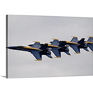 F-18 U. S. Navy Blue Angels Demonstration Team