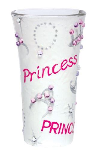 Lolita Hand Painted Shooter Glass, Princess (Glass Princess Shot)