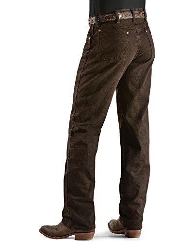 Wrangler Men's Cowboy Cut Original Fit Jean, Black Chocolate, 31Wx32L ()