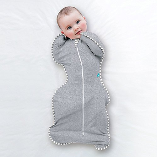 Image of the Love To Dream Swaddle UP Original 1.0 TOG, Gray, Small, 8-13 lbs.