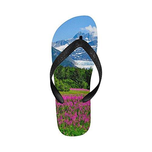 D-historie Alaska Fjellet Flip Flops Strand Sandaler For Menn / Kvinner