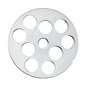 """TSM #32 Stainless Steel 3/4"""" Meat Grinder Plate"""