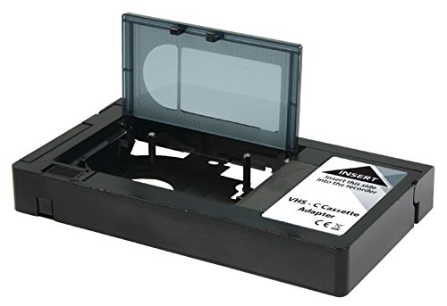 Konig VHS-C Cassette Adapter [KN-VHS-C-ADAPT] - Not Compatible with 8mm/MiniDV (8mm Vcr Player)