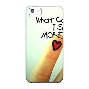 High Quality FutureStarCase Love Skin Case Cover Specially Designed For Iphone - 5c