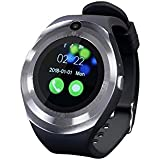 Zebronics Smart TIME 200 Smart Watch (with Alarm Clock, Pedometer,Sleep Monitor, Anti Lost Alert,Camera, Call Function,M-SD Card,Option to Put Nano SIM Card,Built in Speaker
