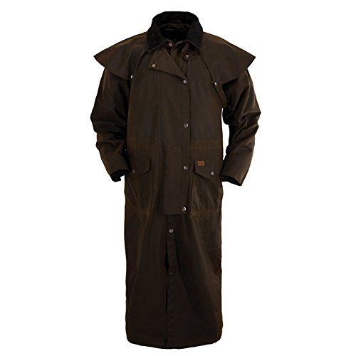 - Outback Trading Stockman Duster L Bronze