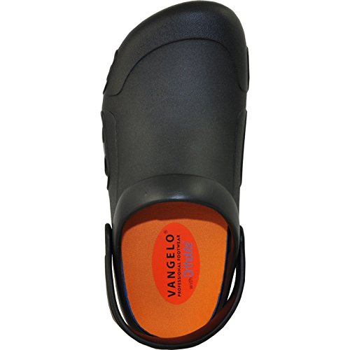 cheap classic VANGELO Professional Slip Resistant Clog Unisex Work Shoe Ritz Black Black pre order sale online for sale cheap price sale with mastercard cheap footlocker L3MUONG