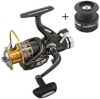 JIA&YOU Carrete de la pesca Carretes para pesca spinning 5.1:1 9 ...