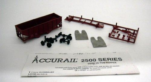 - Accurail HO Oxide USRA 55-ton Hopper r kit #2599 unbuilt 1960s