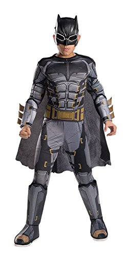 Tuxedo Costume Mask Amazon (Rubie's Costume Boys Justice League Deluxe Tactical Batman Costume, Medium,)