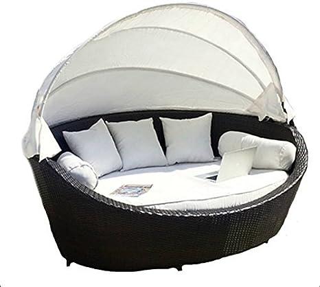 LuxuryGarden - Modelo Basma - Sofá de jardín, salón de ratán ...