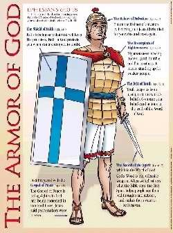 Rose Publishing Chart-Armor Of God Wall (Laminated) by