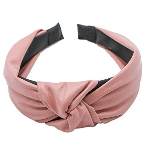 JETEHO Artificial Leather Headband Hair Band Fashion Hair Accessories