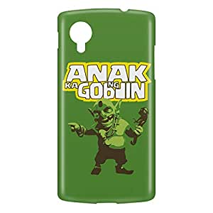 Loud Universe Nexus 5 Anak Ng Goblin Print 3D Wrap Around Case - Multi Color