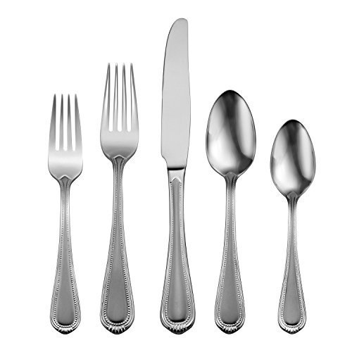 Oneida Satin Countess 45-Piece Flatware Set, Service for (Glossy Salad Fork)