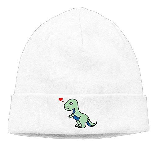Adjustable Warm Cap Winter Fashion Hat Baseball Cap Cartoon Dinosaurs