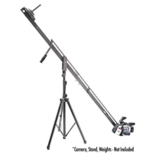 ProAm USA Orion DVC200 DSLR Video Camera Jib Crane Tilt, 8 ft