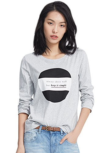 meters-bonwe-womens-fashion-letter-print-long-sleeve-pullover-knit-tee-grey-s