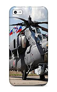 Premium Durable Helicopter Mil-mi Attack Russia War Star Fashion Tpu Iphone 5c Protective Case Cover