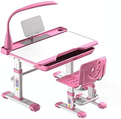 TONGSH Conjuntos de escritorio y silla para niños, juego de silla ...