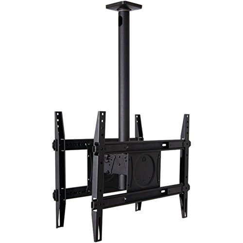 "OmniMount 60-670-223 Dual TV Ceiling Mount 32?€"" 65 Holds up to 250 lbs Consumer Electronics Accessories"
