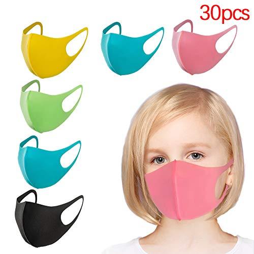 更贴合孩子脸型,透气可水洗优质棉儿童口罩