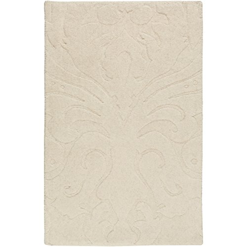 11' Sculpture - Surya Candice Olson by Sculpture SCU-7511 Transitional Hand Loomed 100% Wool Putty 8' x 11' Area Rug
