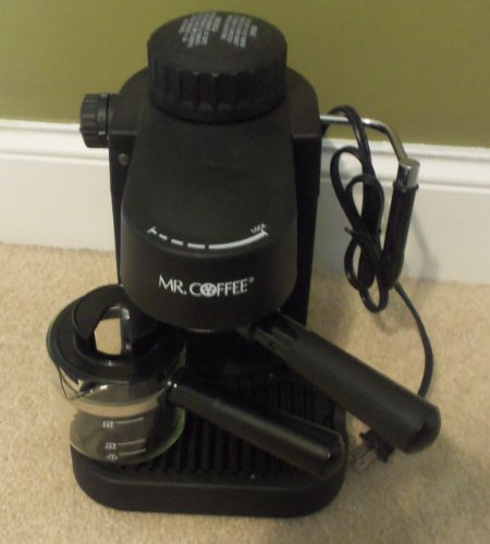 Mr. Coffee Espresso Cappuccino Machine Maker ECM10