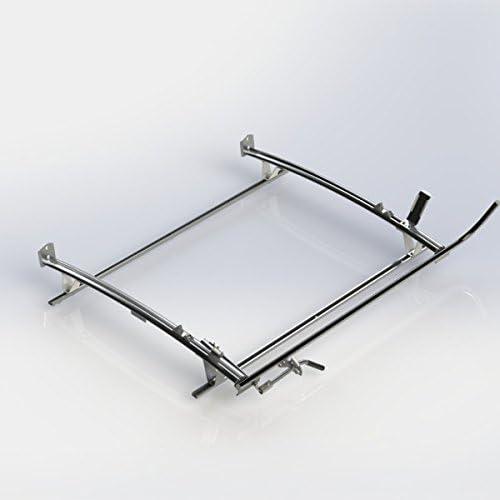 Ranger diseño único abrazadera Rack para escalera, aluminio, 2 barra, RAM Promaster ciudad: Amazon.es: Coche y moto