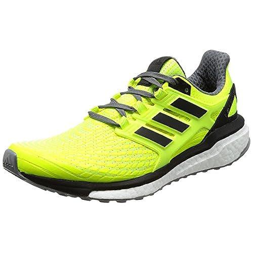 Adidas Energy Boost 3, Zapatillas de Running Hombre, Azul (Blue/Solar Yellow/Mystery Blue), 40 amazon-shoes el-azul-marino Cordones
