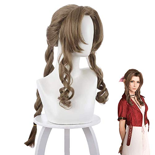 TLSD Aerith Gainsborough Cosplay Wig Anime Final