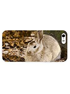 3d Full Wrap Case for iPhone 5/5s Animal Cute Hare