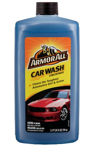 Armor All Car Wash Concentrate (Armor All Car Wash Concentrate Fluid - 24 oz. Bottle, (Pack of)