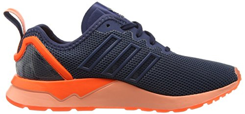 adidas Unisex Adults' Zx Flux Adv Running Shoes Blue (Mini Blue/Mini Blue/Solar Orange) zGU4oj