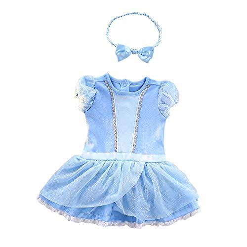 Dressy Daisy Baby Girls Princess Cinderella Onesie