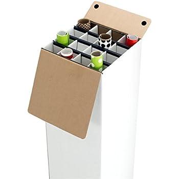 Amazon Com Adir Corrugated Cardboard 16 Roll File For