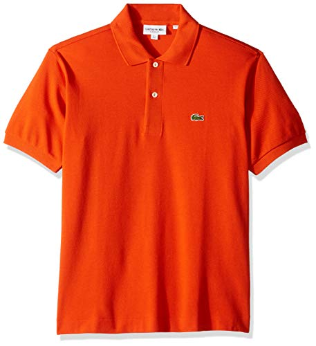 Lacoste Men's Classic Short Sleeve L.12.12 Pique Polo Shirt,Casual,Small (Polo Shirt Lacoste)