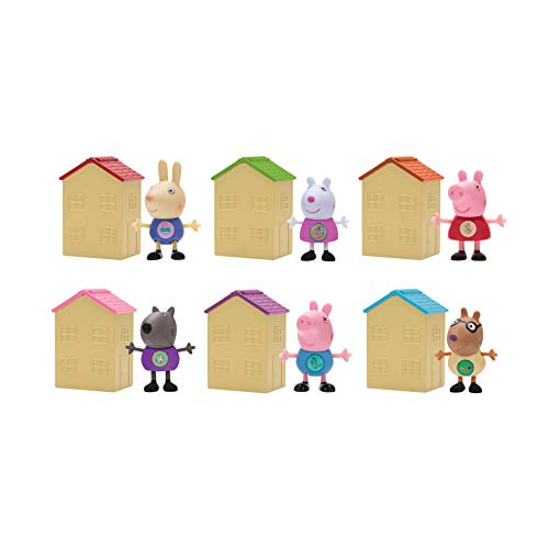 Peppa Pig Blind House Assortment Polybag of 6, Series 1 JungleDealsBlog.com