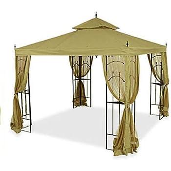Replacement Canopy for Home Depot Arrow Gazebo - SAGE  sc 1 st  Amazon.com & Amazon.com : Hampton Bay Replacement Canopy for 10 ft. x 10 ft ...