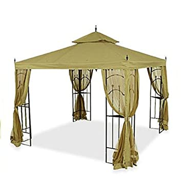 Replacement Canopy for Home Depot Arrow Gazebo - SAGE  sc 1 st  Amazon.com : replacement canopy for gazebo - memphite.com