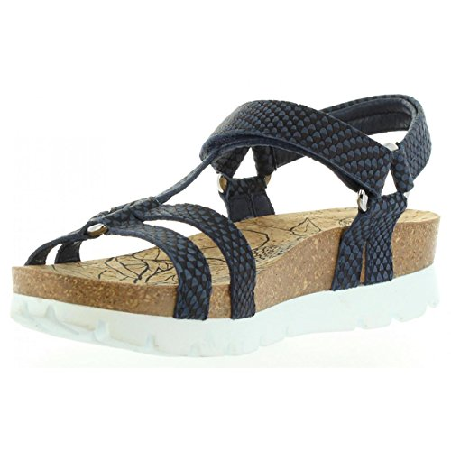 Sandalias de Mujer PANAMA JACK SALLY SNAKE B1 NAPA MARINO