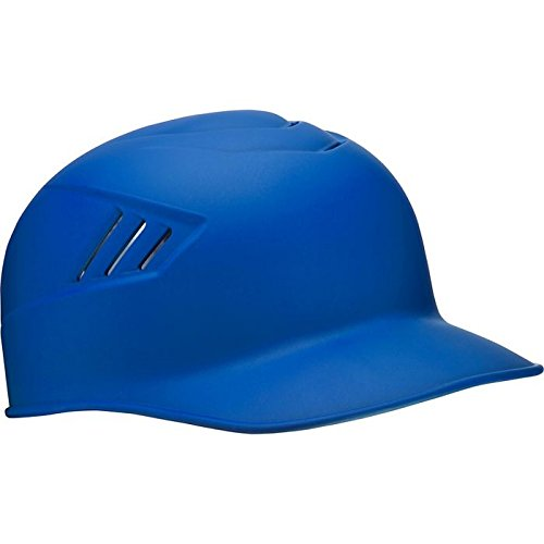 Rawlings Coolflo Matte Style Alpha Sized Base Coach Helmet, Royal, Large by Rawlings
