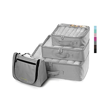 Lyceem Packing Organizers Value Set for Travel,311- grey