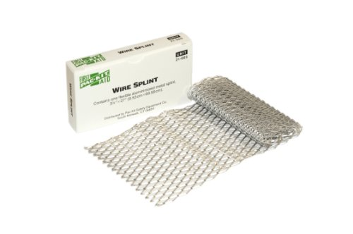 Pac-Kit by First Aid Only 21-003 Aluminized Flexible Metal Wire Splint, 27