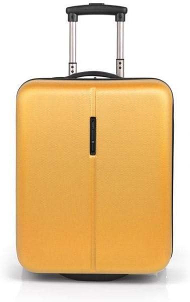 Gabol - Paradise | Maleta de Cabina Rigida de 38 x 53 x 20 cm con Capacidad para 33 L de Color Mostaza