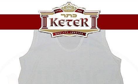 PerfTzit Undershirt Tzitzis Keter Ashkenazi Meyuchad (6, 5) by Keter Judaica (Image #1)