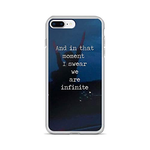 iPhone 7 Plus/8 Plus Pure Clear Case Cases Cover We are Infinite-The Perks of Being a WallFlower