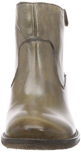 Inuovo CALISTA - botas de cuero mujer verde - Grün (VISONE)